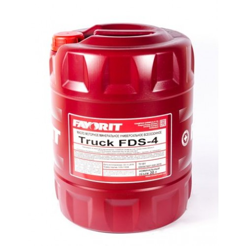 Минерално моторно масло Favorit Truck FDS-4 15W40-20L