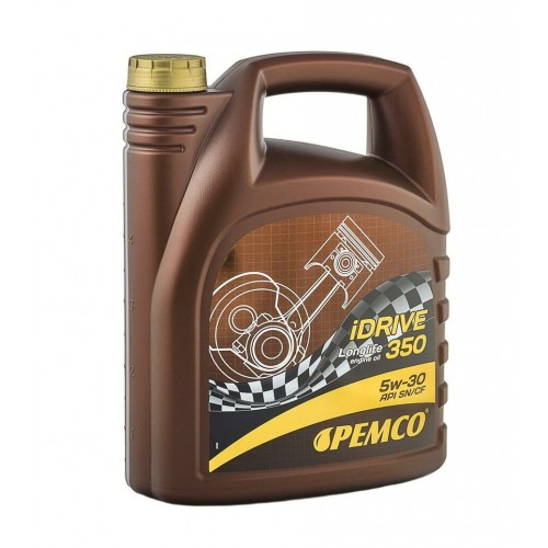 Синтетично моторно масло PEMCO iDRIVE 350 5W30-5L