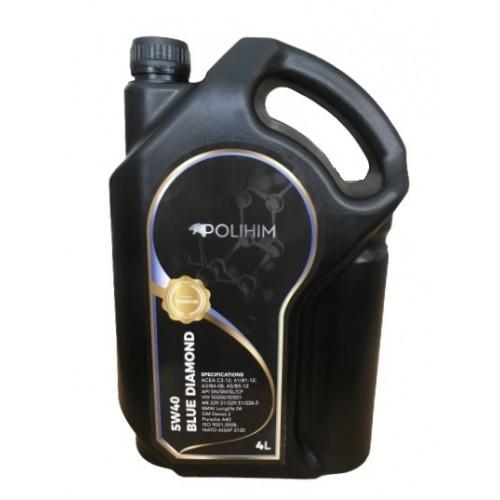 Синтетично моторно масло Polihim 5W40 4L