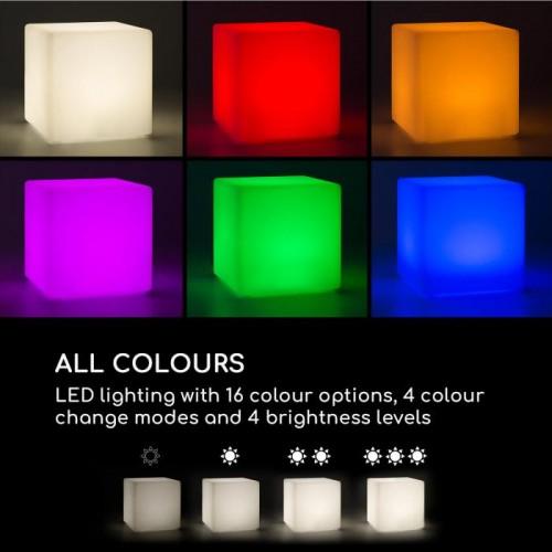 Светещ куб Blumfeldt Shinecube XL