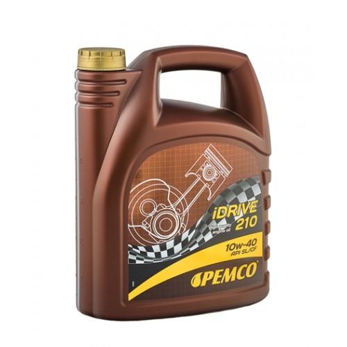 Полусинтетично моторно масло PEMCO iDRIVE 210 10W40 - 5л.