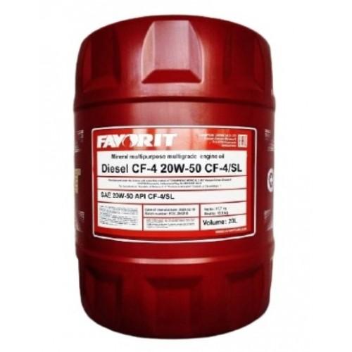 Масло Favorit Diesel CF-4 20W50 - 20л