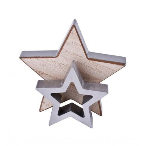Комплект декоративни звезди DEKOR