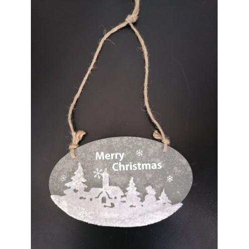 "Декоративна украса за закачане ""Merry Christmas"""