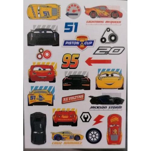 """Стикери за стена 70х100 """"Cars"""""""