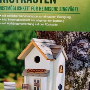 Декоративна къщичка за птици Living Garden