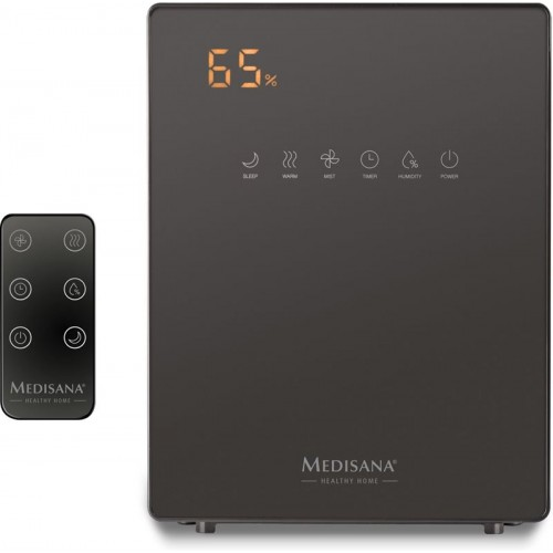 Овлажнител за въздух с хигрометър Medisana AH 675