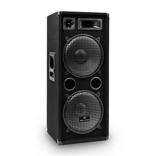 PW-2222 трилентен, PA DJ високоговорител 2 х 30 см 1000W