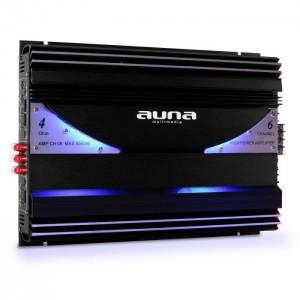 6-каналенусилвател за кола 570W RMS 5000W Max AUNA