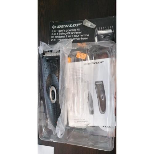 Dunlop PRO 2-в-1 стайлинг комплект за мъже - тример за брада и тример за нос