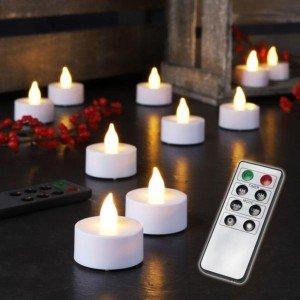 Светодиоден комплект свещи с дистанционно