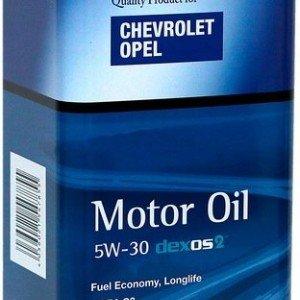 Синтетично моторно масло Opel-Shevrolet 5W30, 5л.