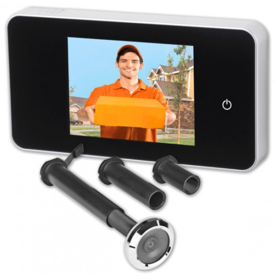 Цифрова шпионка за врата с цветен дисплей