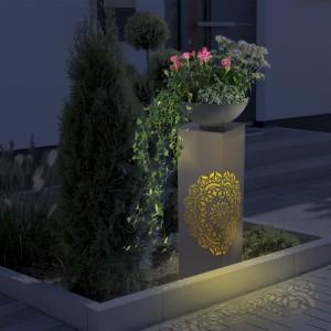 Саксия колона с лед осветяване Easymaxx