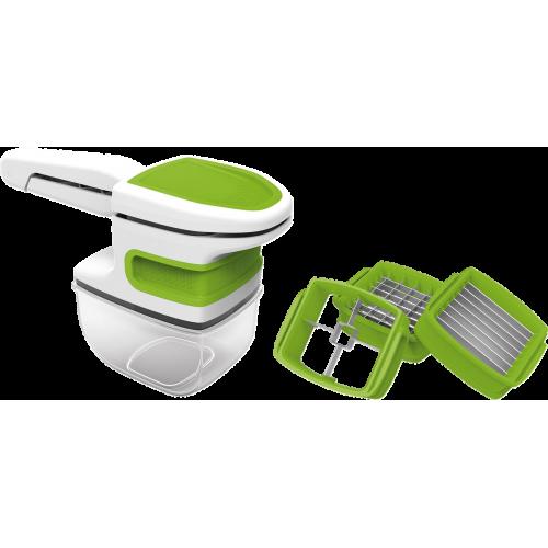 Компактен кухненски уред за рязане Gourmetmaxx
