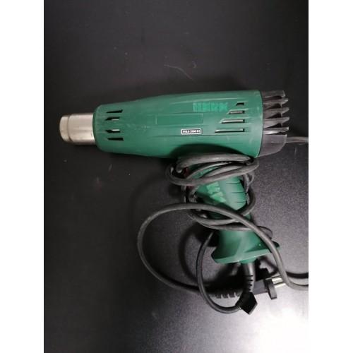 НЕРАБОТЕЩ Вентилатор за горещ въздух с дълга дръжка/унищожител на плевели PARKSIDE PLHLG 2000 B2