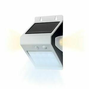 Слънчева LED лампа със сензор за движение