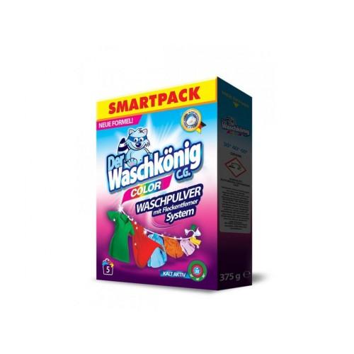 Прах за пране Waschkonig Color 0,375кг. 5 пранета