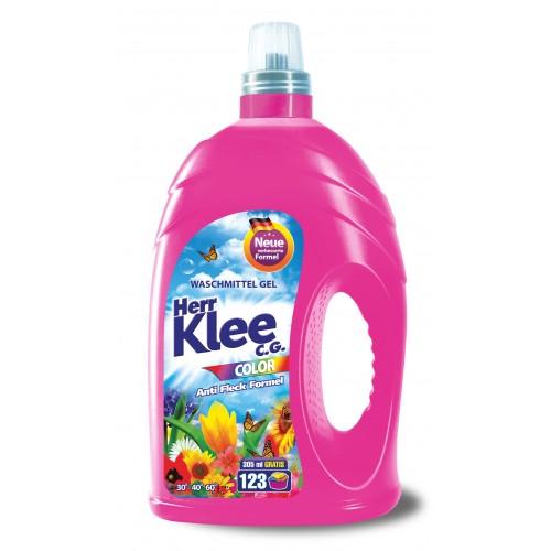 Течен прах за пране Klee Color 4,305кг. 123 пранета