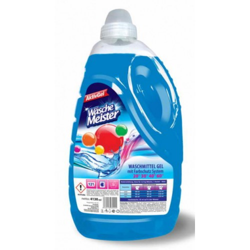 Течен прах за пране Wasche Meister Universal 4,13кг. 51 пранета (концентрат)