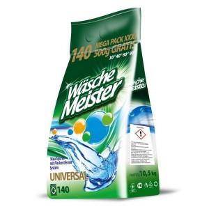 Прах за пране Wasche Meister Universal 10,5 кг. 140 пранета