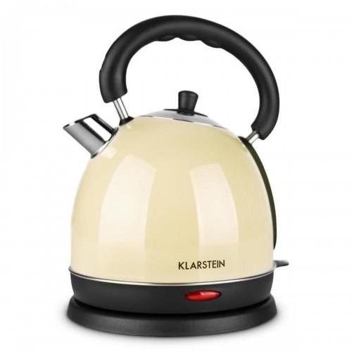 Електрическа кана от неръждаема стомана Klarstein Teatime Retro Style 1.8L