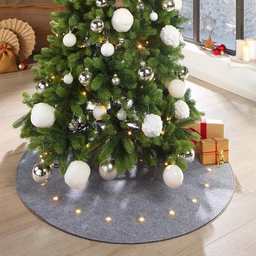 LILENO HOME LED килимче за коледно дърво