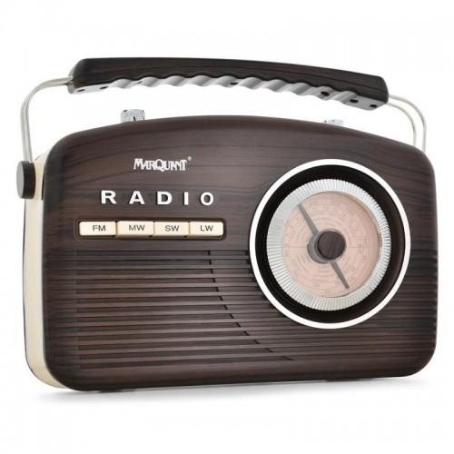 Ретро мобилно радио с FM / AM / SW / LW Marquant
