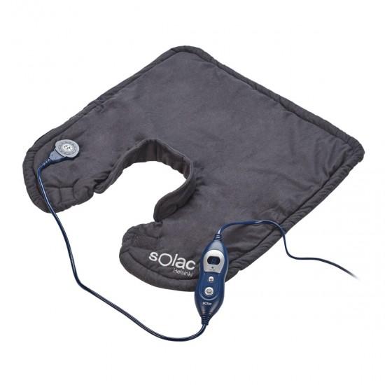 Ергономична нагревателна подложка за врата и раменете SOLAC