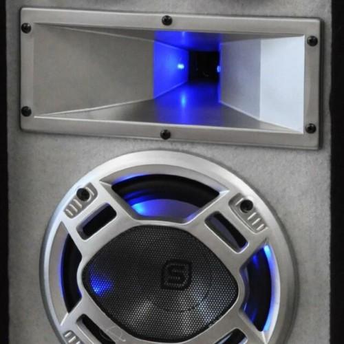 Високоговорител Skytec - Disco White 600W