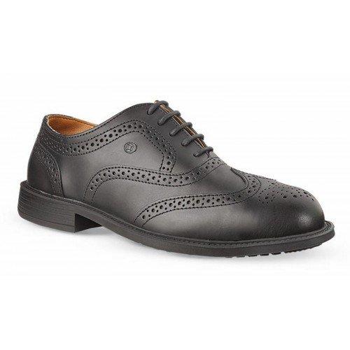 Мъжки предпазни обувки от естествена кожа  Allegro Jallatte