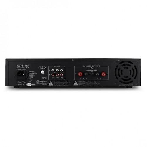 Усилвател SD-USB-MP3 SPL-700W DJ PA HiFi Skytec