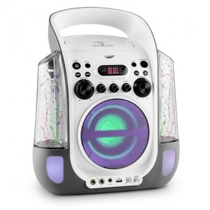 Водна Караоке системаCD, USB, MP3 водни джетове с ЛЕД , 2 x Микрофона Kara