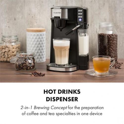 Кафемашина за кафе и чай, млечна пяна Baristomat 2 v 1
