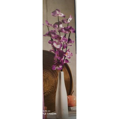 Декоративна ваза с лед цветя