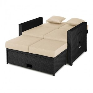 Ратанов диван Komfortzone Rattan-Lounge-Sofa
