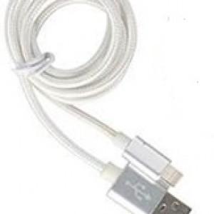 Кабел Charge & Sync 100x1,8x0,8cm Сребърен