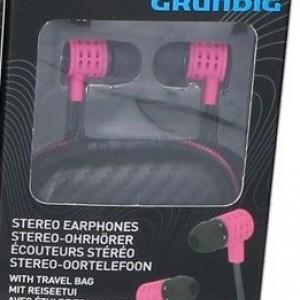 Стерео слушалки Grundig Pro Розови