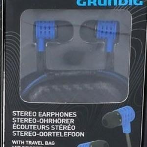 Стерео слушалки Grundig Pro Сини