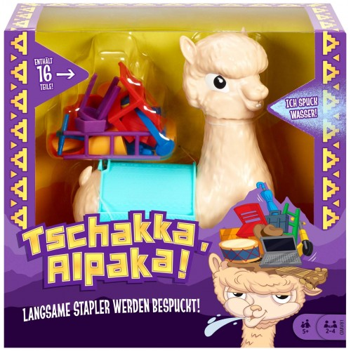 Детска играчка камила Tschakka Alpaka
