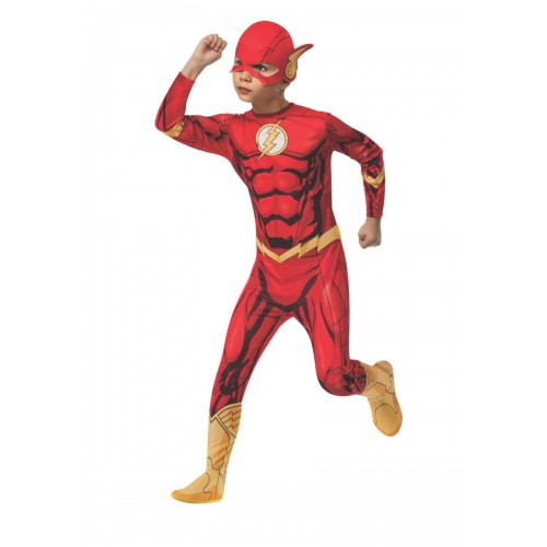 DC Флаш детски костюм