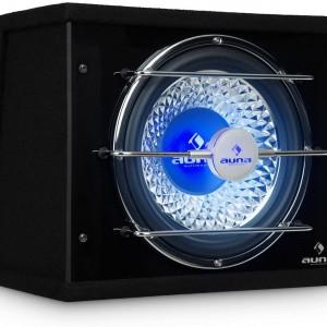 Субуфер бас-кутия с LED светлинен ефект AUNA