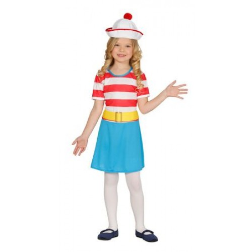 Детски моряшки костюм за момиче