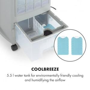 Вентилатор,охладител и овлажнител за въздух Klarstein Whirlwind 3 в 1