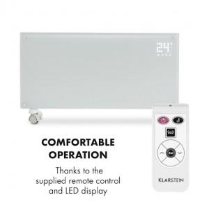 Конвекторен нагревател Klarstein Bornholm 2000 W, LCD дисплей