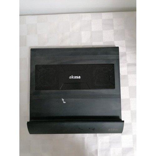 Стойка с вентилатор за лаптоп AKASA