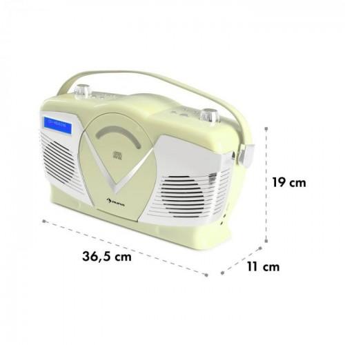 Ретро CD радиото Auna RCD-70 DAB