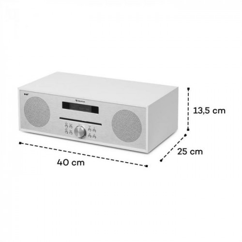 Радио AUNA Silver Star CD-FM