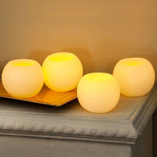 I-Glow LED истински восъчни свещи