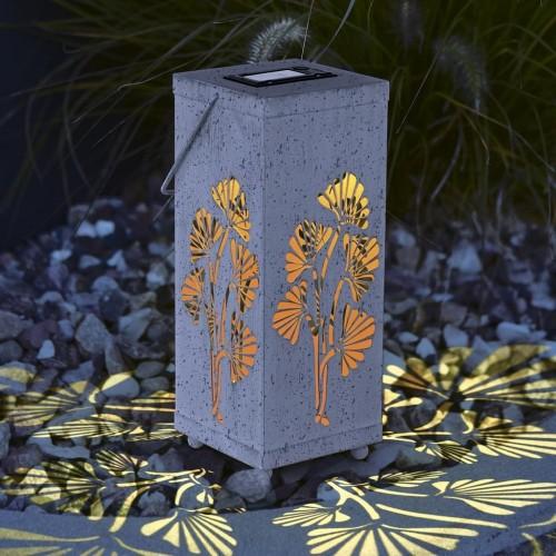 LED слънчева градинска лампa